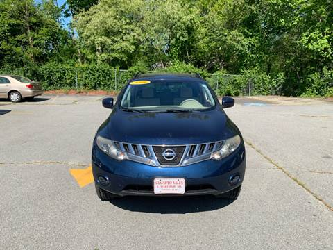 2009 Nissan Murano for sale at Gia Auto Sales in East Wareham MA