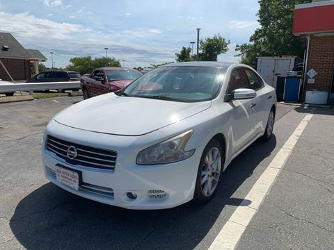 2011 Nissan Maxima for sale at Gia Auto Sales in East Wareham MA