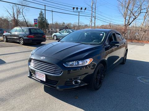 2014 Ford Fusion for sale at Gia Auto Sales in East Wareham MA