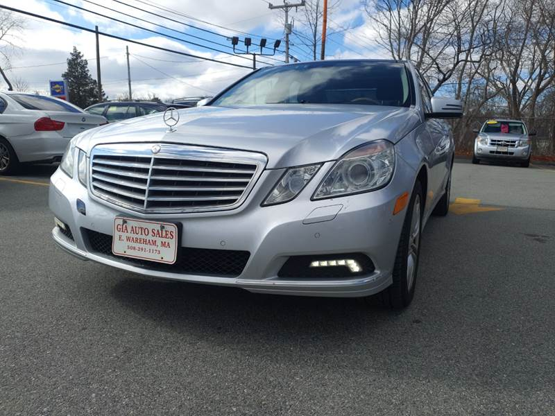 2010 Mercedes-Benz E-Class for sale at Gia Auto Sales in East Wareham MA