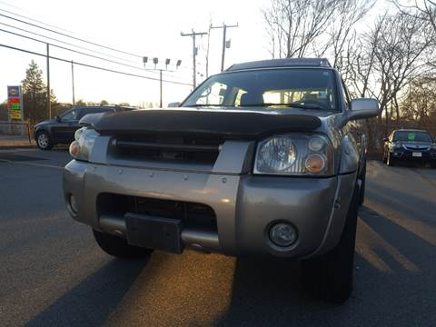 2002 Nissan Frontier for sale at Gia Auto Sales in East Wareham MA