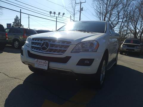 2011 Mercedes-Benz M-Class for sale at Gia Auto Sales in East Wareham MA