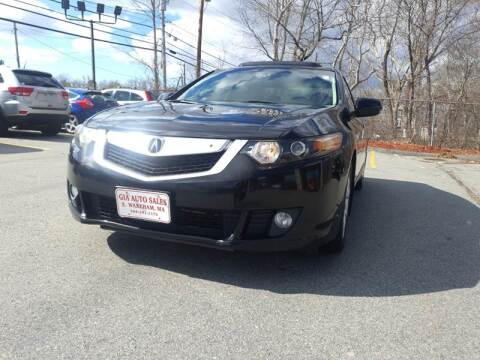 2009 Acura TSX for sale at Gia Auto Sales in East Wareham MA