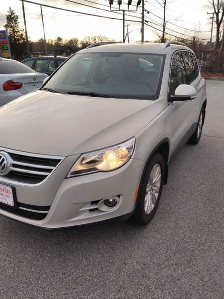 2009 Volkswagen Tiguan for sale at Gia Auto Sales in East Wareham MA