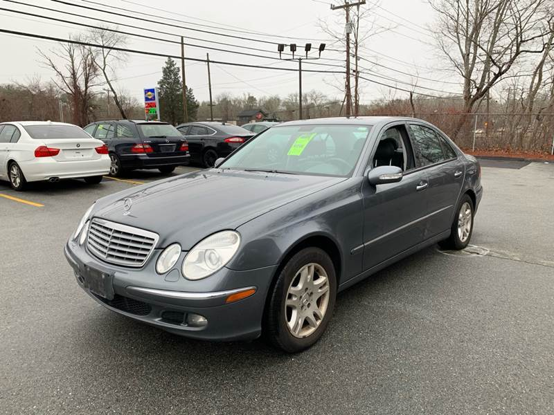2006 Mercedes-Benz E-Class for sale at Gia Auto Sales in East Wareham MA