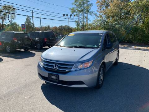 2011 Honda Odyssey for sale at Gia Auto Sales in East Wareham MA