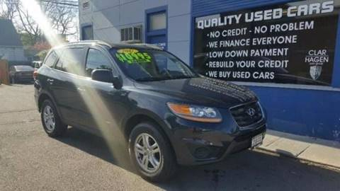 2011 Hyundai Santa Fe for sale at Clar Hagen Auto Group in Rochester NY
