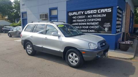 2006 Hyundai Santa Fe for sale at Clar Hagen Auto Group in Rochester NY