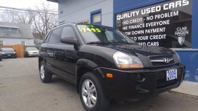 2009 Hyundai Tucson for sale at Clar Hagen Auto Group in Rochester NY