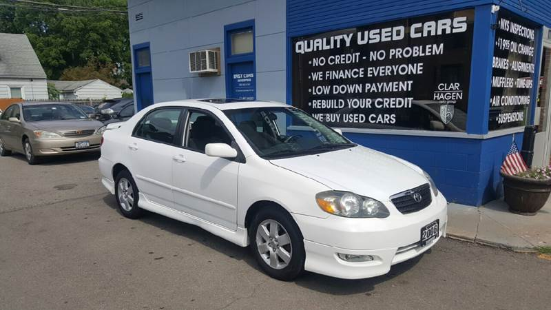 2006 Toyota Corolla for sale at Clar Hagen Auto Group in Rochester NY