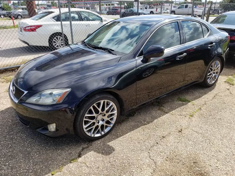 2006 Lexus IS 350 For Sale At GALAXY MOTORS LLC In Mobile AL