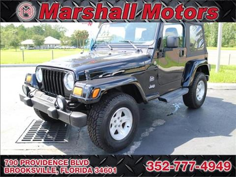 2004 jeep wrangler for sale in florida
