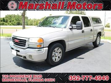 2005 GMC Sierra 1500 for sale in Brooksville, FL