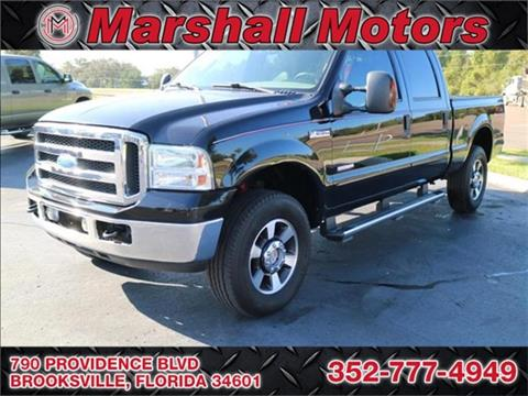 2006 Ford F-250 Super Duty for sale in Brooksville, FL