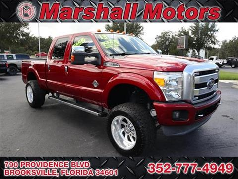 2013 Ford F-250 Super Duty for sale in Brooksville, FL