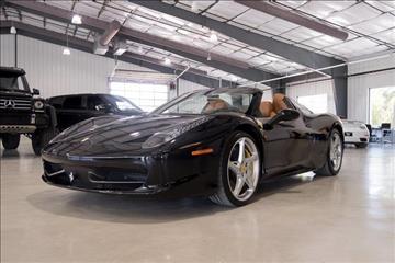 2013 Ferrari 458 Spider for sale in Boerne, TX