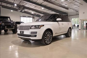 2015 Land Rover Range Rover for sale in Boerne, TX