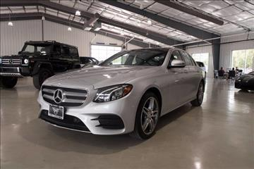 2017 Mercedes-Benz E-Class for sale in Boerne, TX
