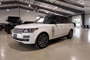2017 Land Rover Range Rover for sale in Boerne, TX