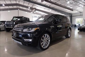 2016 Land Rover Range Rover Sport for sale in Boerne, TX