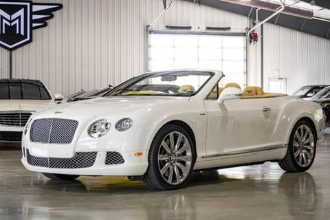 2013 Bentley Continental GTC for sale in Boerne, TX