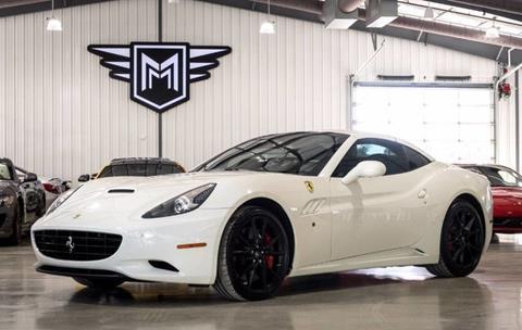 2012 Ferrari California for sale in Boerne, TX