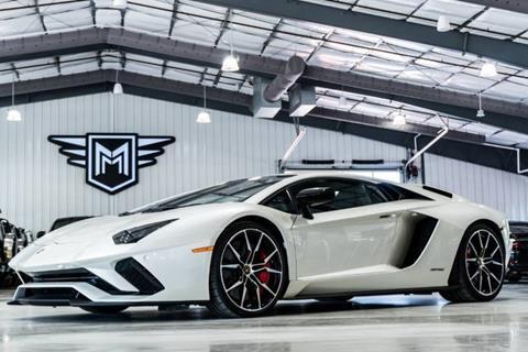 2017 Lamborghini Aventador for sale in Boerne, TX