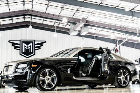 2015 Rolls-Royce Wraith for sale in Boerne, TX