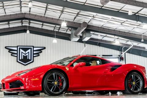used 2018 ferrari 488 gtb for sale in texas. Black Bedroom Furniture Sets. Home Design Ideas