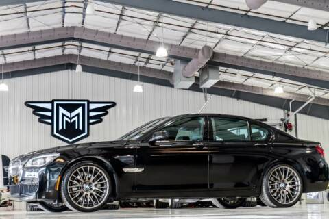 2014 BMW 7 Series 750i for sale at MARK MOTORS in Boerne TX