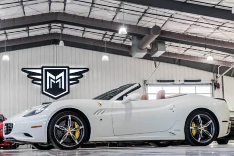 2014 Ferrari California for sale at MARK MOTORS in Boerne TX