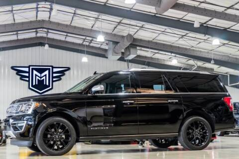 2018 Ford Expedition MAX Platinum for sale at MARK MOTORS in Boerne TX