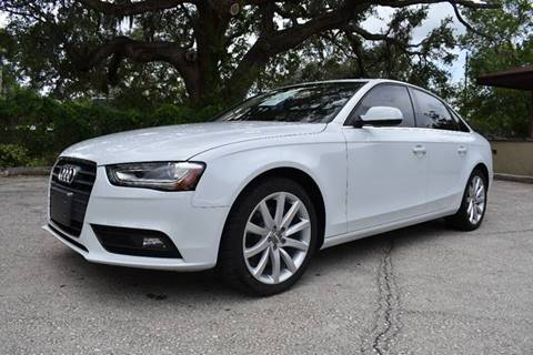 2013 Audi A4 for sale at Advantage Auto Group Inc. in Daytona Beach FL