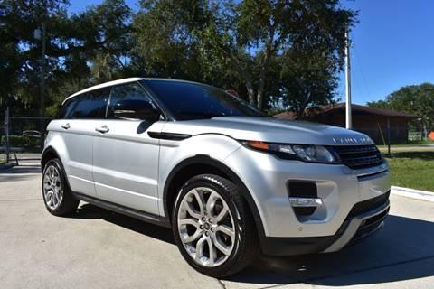 2013 Land Rover Range Rover Evoque Dynamic for sale at Advantage Auto Group Inc. in Daytona Beach FL