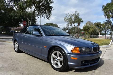 2002 BMW 3 Series 325Ci for sale at Advantage Auto Group Inc. in Daytona Beach FL