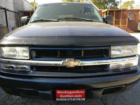 2002 Chevrolet Blazer for sale in Ford Heights, IL