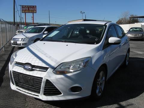 2013 Ford Focus SE for sale at Machs Auto Sales in Dallas TX