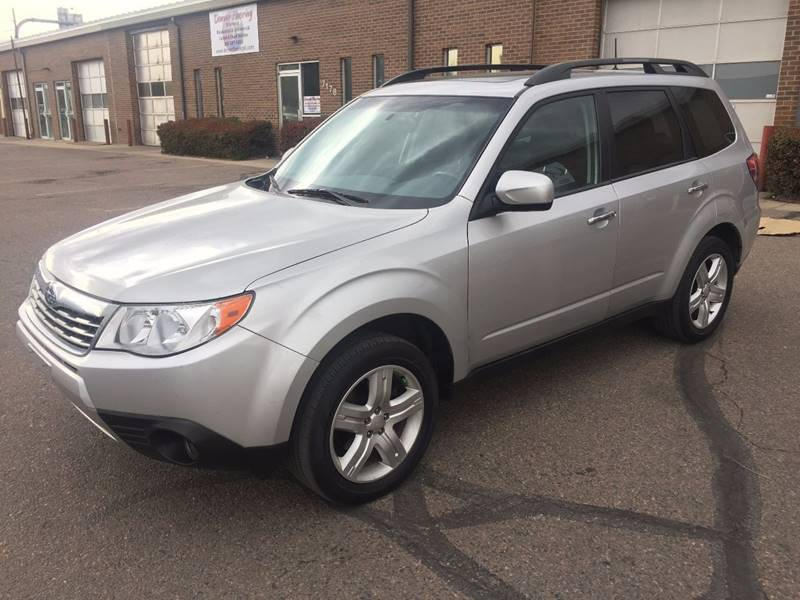 2009 Subaru Forester for sale at SUNSET AUTO in Denver CO