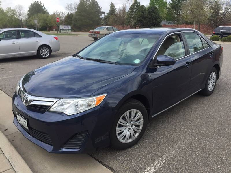 2014 Toyota Camry for sale at SUNSET AUTO in Denver CO