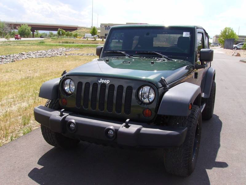 2011 Jeep Wrangler for sale at SUNSET AUTO in Denver CO
