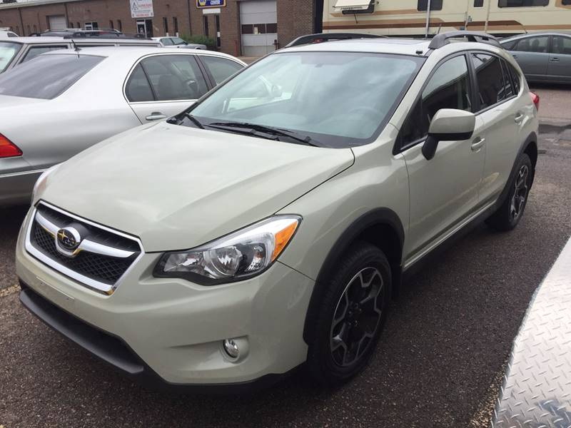2013 Subaru XV Crosstrek for sale at SUNSET AUTO in Denver CO