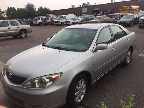 2002 Toyota Camry for sale at SUNSET AUTO in Denver CO