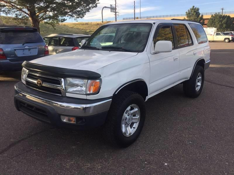 1999 Toyota 4Runner For Sale At SUNSET AUTO In Denver CO