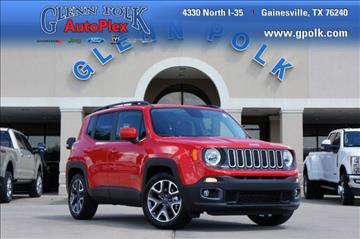 2016 Jeep Renegade for sale in Gainesville, TX
