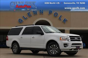 2017 Ford Expedition EL for sale in Gainesville, TX