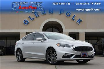 2017 Ford Fusion for sale in Gainesville, TX