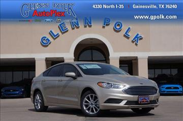 2017 Ford Fusion Hybrid for sale in Gainesville, TX