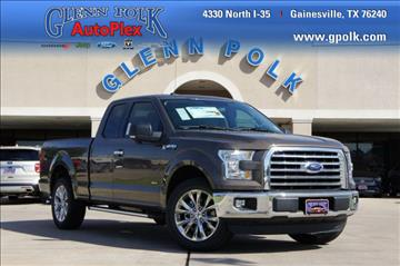 2016 Ford F-150 for sale in Gainesville, TX