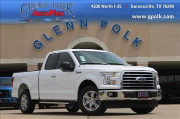 2017 Ford F-150 for sale in Gainesville, TX