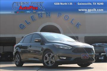 2017 Ford Focus for sale in Gainesville, TX